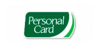 Logo personal card